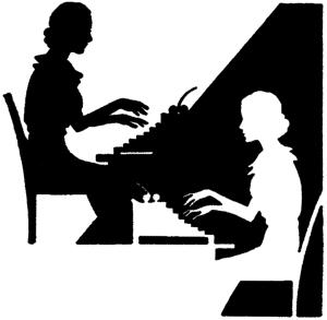 Vintage-Typing-Ladies-GraphicsFairy